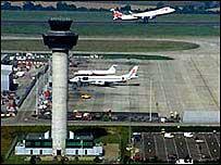 Airport runway   BBC