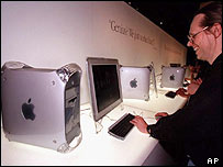 Mac user looking at a G4