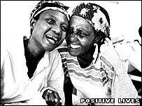 Samkelisiwe and her mother, Natal (Positive Lives)