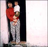 HIV positive Quach Thi Mai lives with her young son in Vietnam.