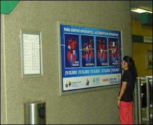 """Maricela Sánchez, del Subconcejo de Prevención del SIDA de Guadalajara: """"Esta campaña tuvo lugar entre septiembre de 2002 y mayo de 2003""""."""