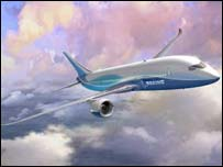 7E7 jet - Boeing