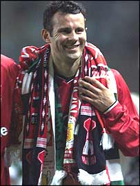 Ryan Giggs smiles