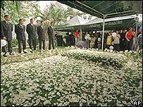 Tumba de Pablo Escobar.