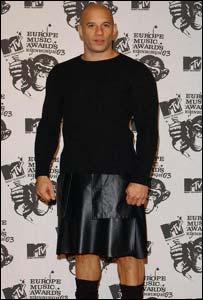 Vin Diesel in a kilt