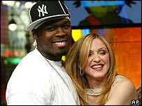 50 Cent and Madonna