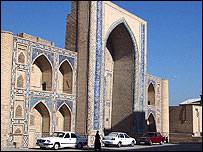 Mosque in Bukhara (Image: Carolyn Wei)