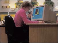 Norwich Union office worker