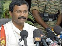 Tamil Tigers spokesman