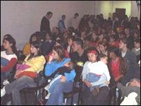 Charla sobre SIDA en Uruguay