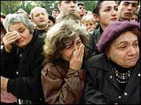 Армяне скорбят о погибших
