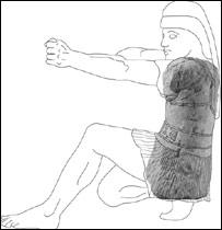 Lattes warrior, Antiquity