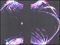 A man-made solar flare