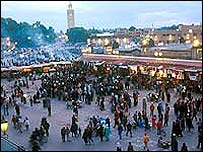 Market in Marrakech