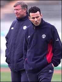 Alex Ferguson and Ryan Giggs