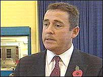 Head teacher Gareth Evans