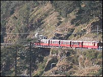 Kalka-Simla train