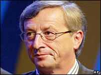 Luxembourg's prime minister Jean-Claude Juncker