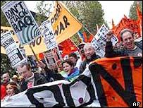 Florence demonstration
