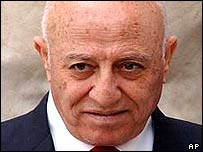 Palestinian Prime Minister Ahmed Qurei