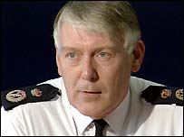 Chief constable Paul Whitehouse
