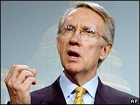 Senator Harry Reid, photographed in 2002