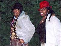 Charlene Ellis (left) and Letisha Shakespeare