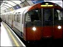 Hammersmith and City line train