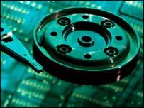 Inside a computer hard disk, Eyewire