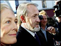Vanessa Redgrave and Akhmed Zakayev