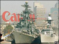 Indian warships