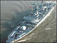 Pakistani warships