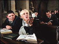 Tom Felton as Draco Malfoy in Harry Potter