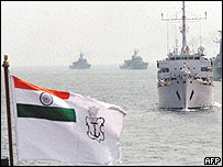 Indian warships