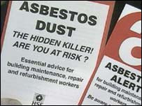 Asbestos leaflets
