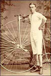 A Victorian cyclist - copyright Wenlock Olympian Society