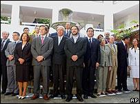 Ministros de Relaciones Exteriores asistenten a la XIII Cumbre Iberoamericana.