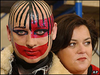 Boy George and Rosie O'Donnell