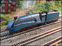Hornby's first Live Steam locomotive