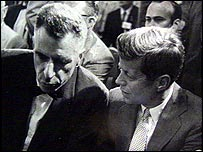 Galbraith with John F Kennedy