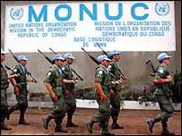Monuc troops