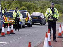Police roadside checks