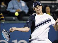 World number one Andy Roddick