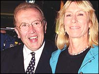 Sir David and Lady Carina Frost
