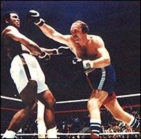 Mohamed Ali y Chuck 'Rocky Balboa' Wepner (Foto: sitio de Chuck Wepner)