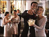 Chiwetel Ejiofor and Keira Knightley in Love Actually