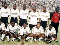 Uganda's Cranes go through