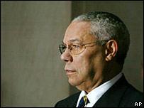 Colin Powell, secretario de Estado de EE.UU.