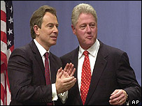 Blair and Clinton