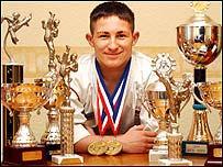 Karate champion Jamie Foster